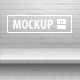 12 One-Piece Shelf Mockups Set